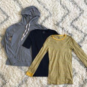 J. Crew Bundle sweater T shirt Lot small Xsmall